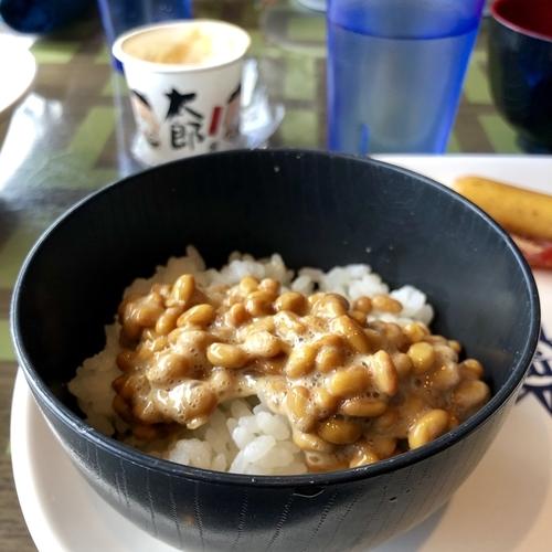 外国船でも納豆が食べられる幸せ