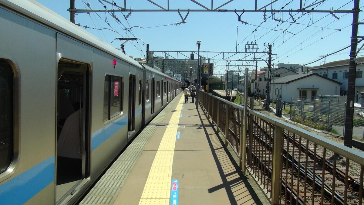 片瀬江ノ島駅(ホーム)