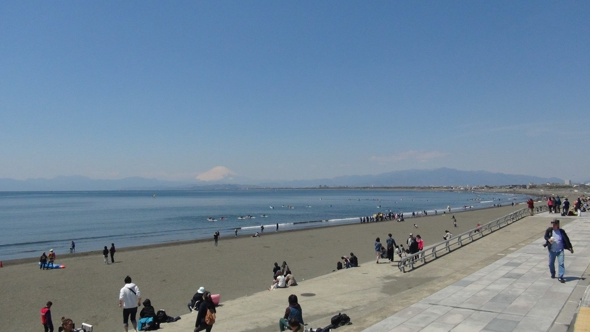 海(片瀬西浜海水浴場)