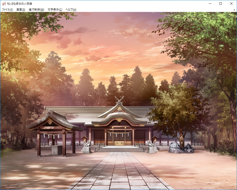 神社(CG)
