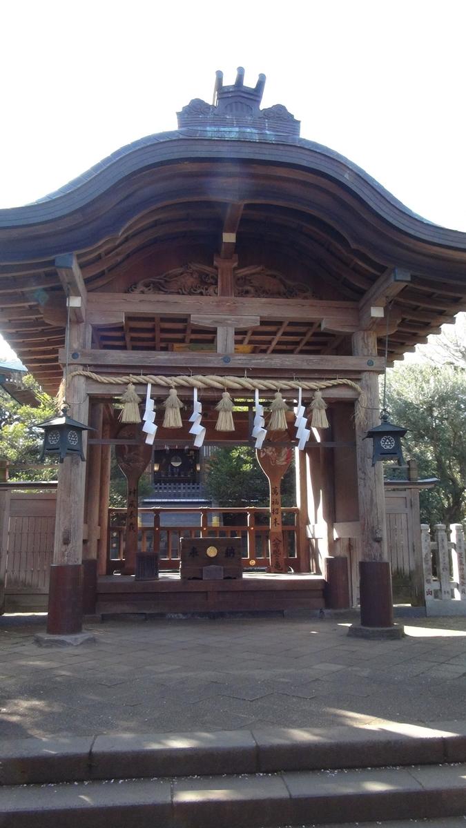 江島神社(奥津宮)