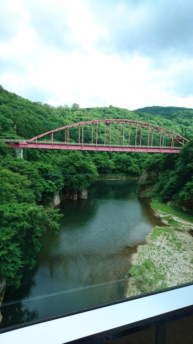 塔のへつり橋