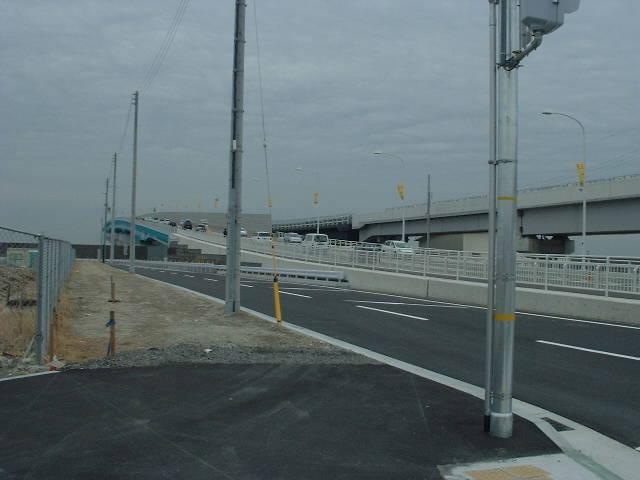 神戸スカイブリッジ‐空港連絡橋‐側面