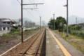 (赤穂線)坂越駅より東:相生駅方面 ~なんという一直線~ 上り