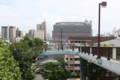 時の道横断歩道橋 - 明石市立文化博物館より 製作:神戸製鋼所 1991.06