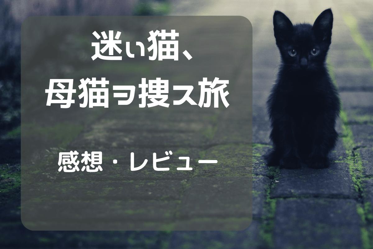 迷ぃ猫、母猫ヲ捜ス旅