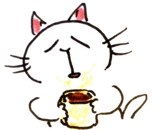 食後のコーヒー やめられないんだな