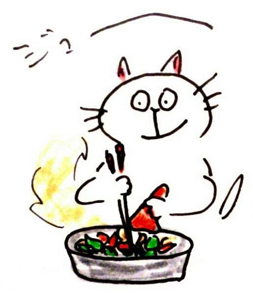 野菜のごちゃごちゃ焼きつくる