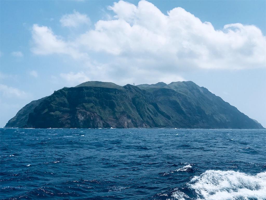青ヶ島遠景