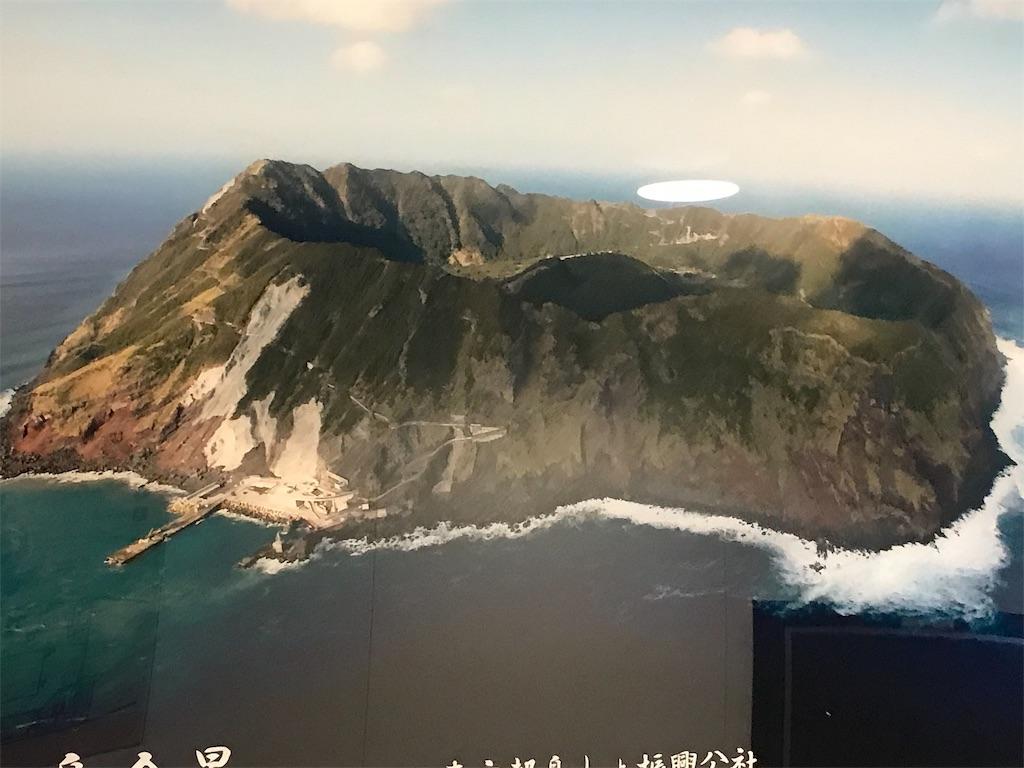 青ヶ島全景のパネル写真