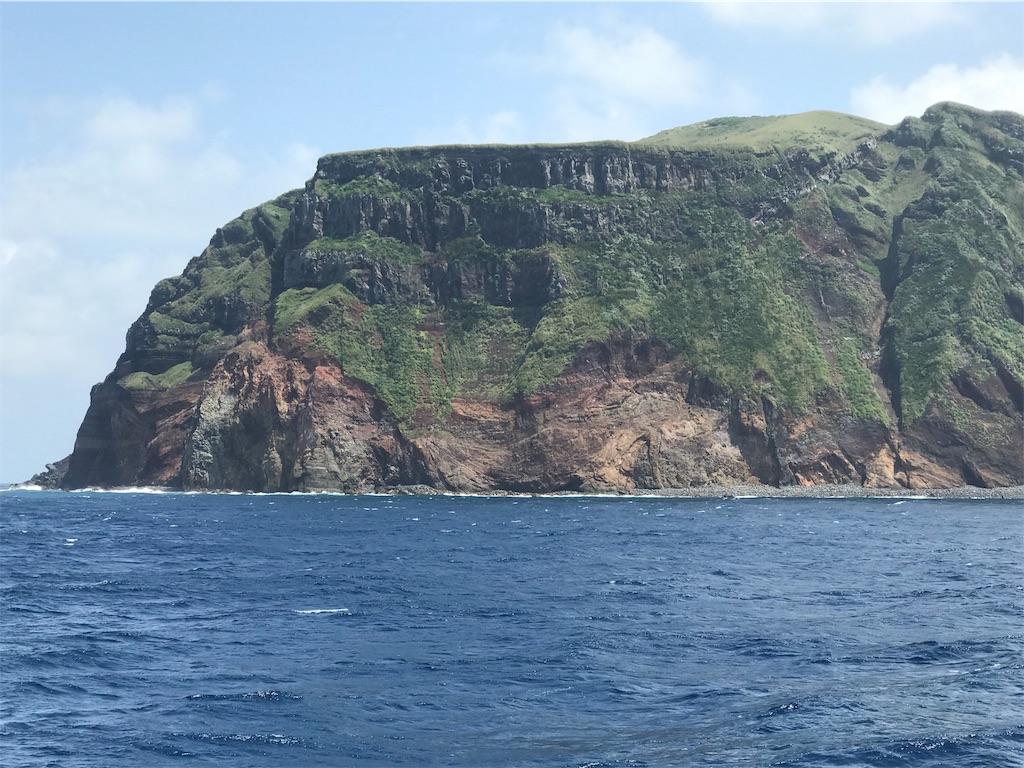 目の前の青ヶ島