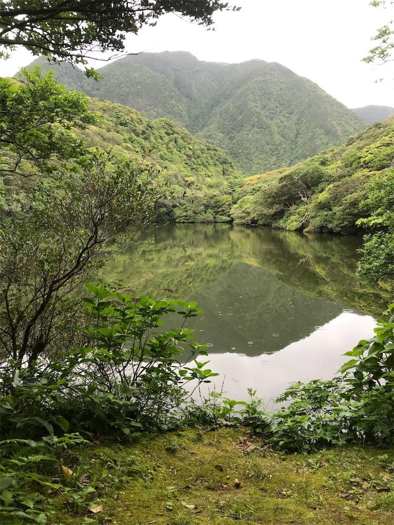 神山と御代ヶ池