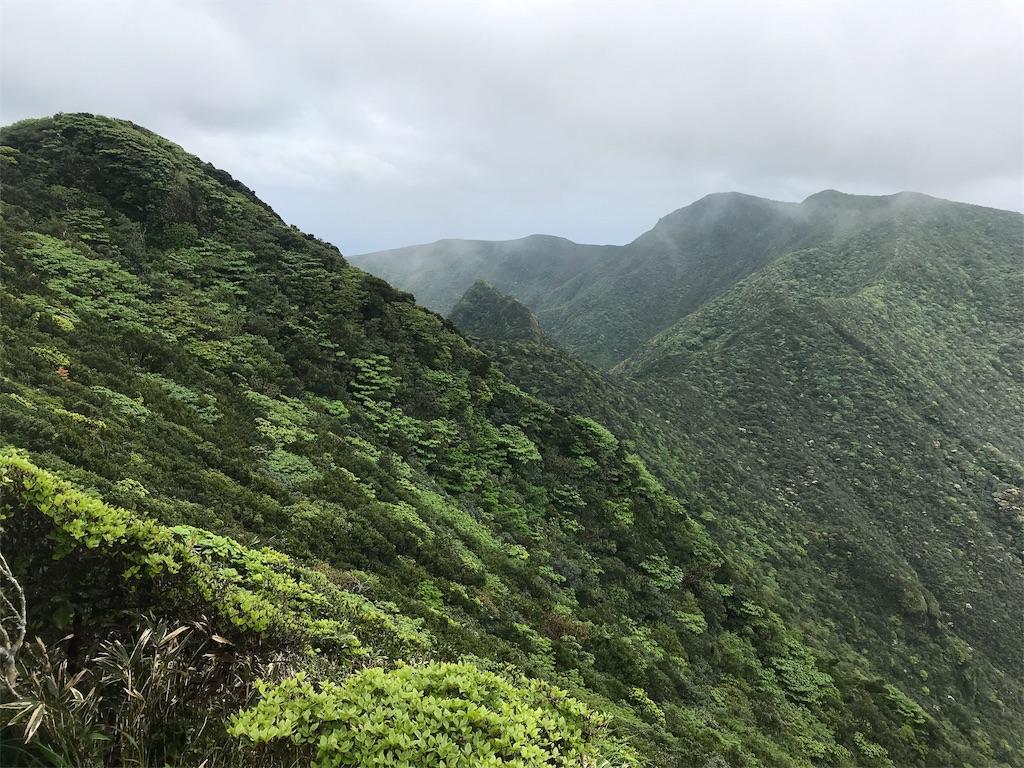 長滝山から御山