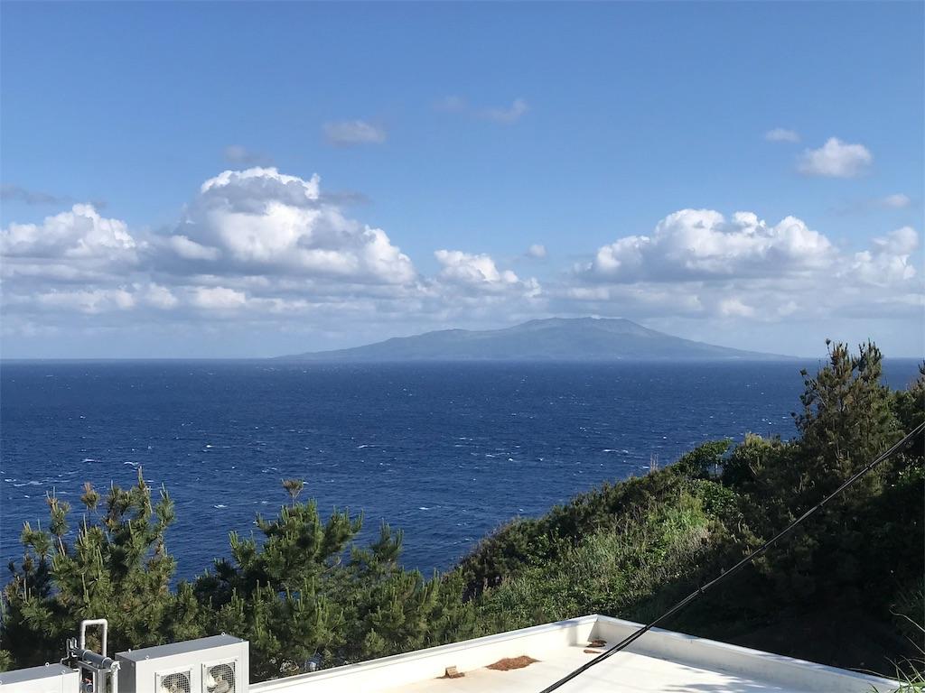 集落からの三宅島