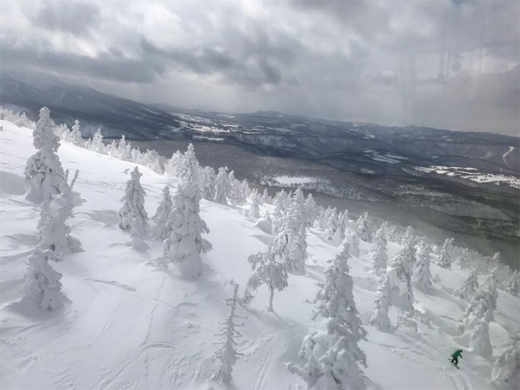 山頂からの遠景。