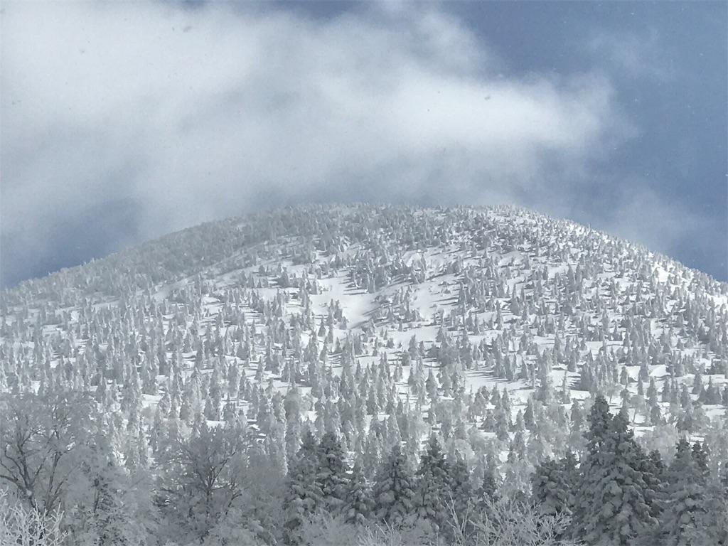 雪の八甲田連峰