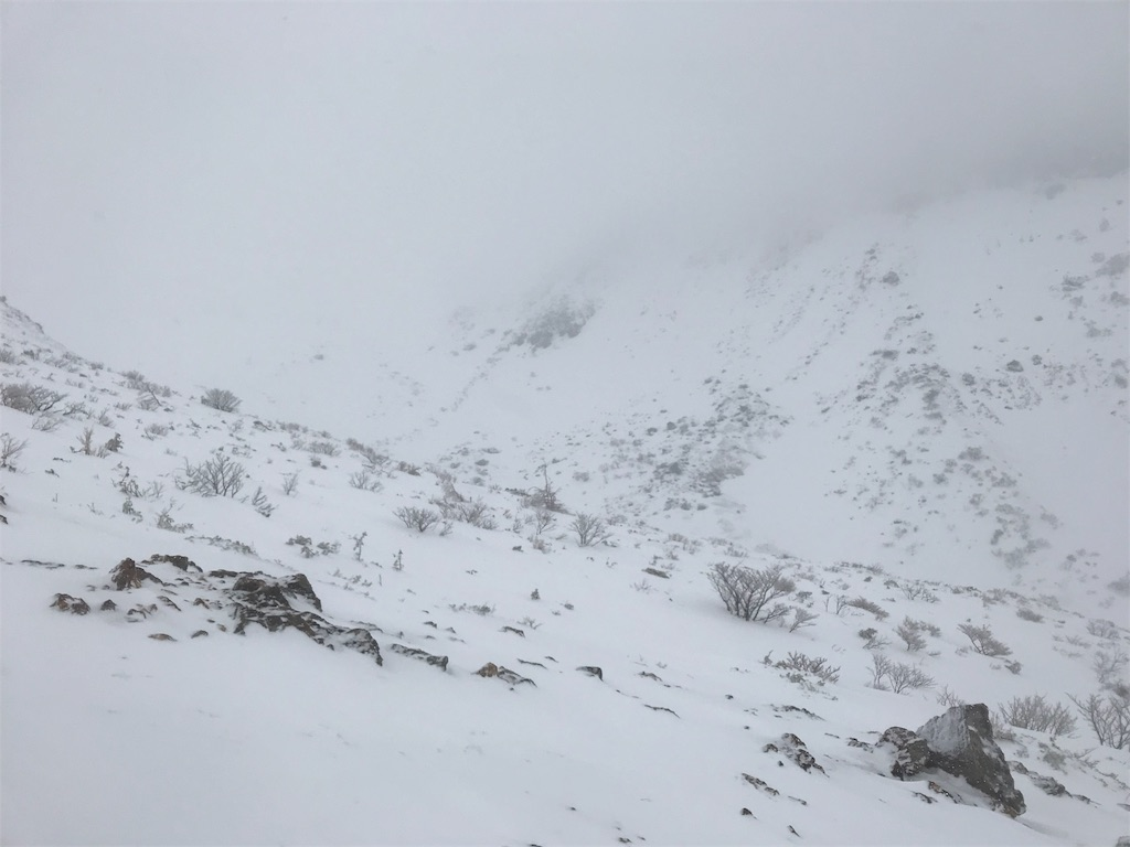 吹雪のあだたら山