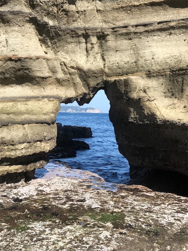 青の洞門に近づく