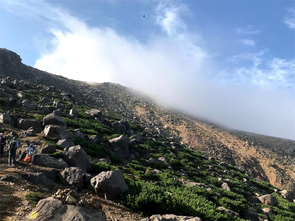 山頂まで後少し