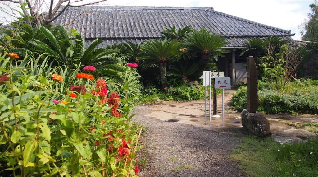 まるで沖縄の離島の家のようです。