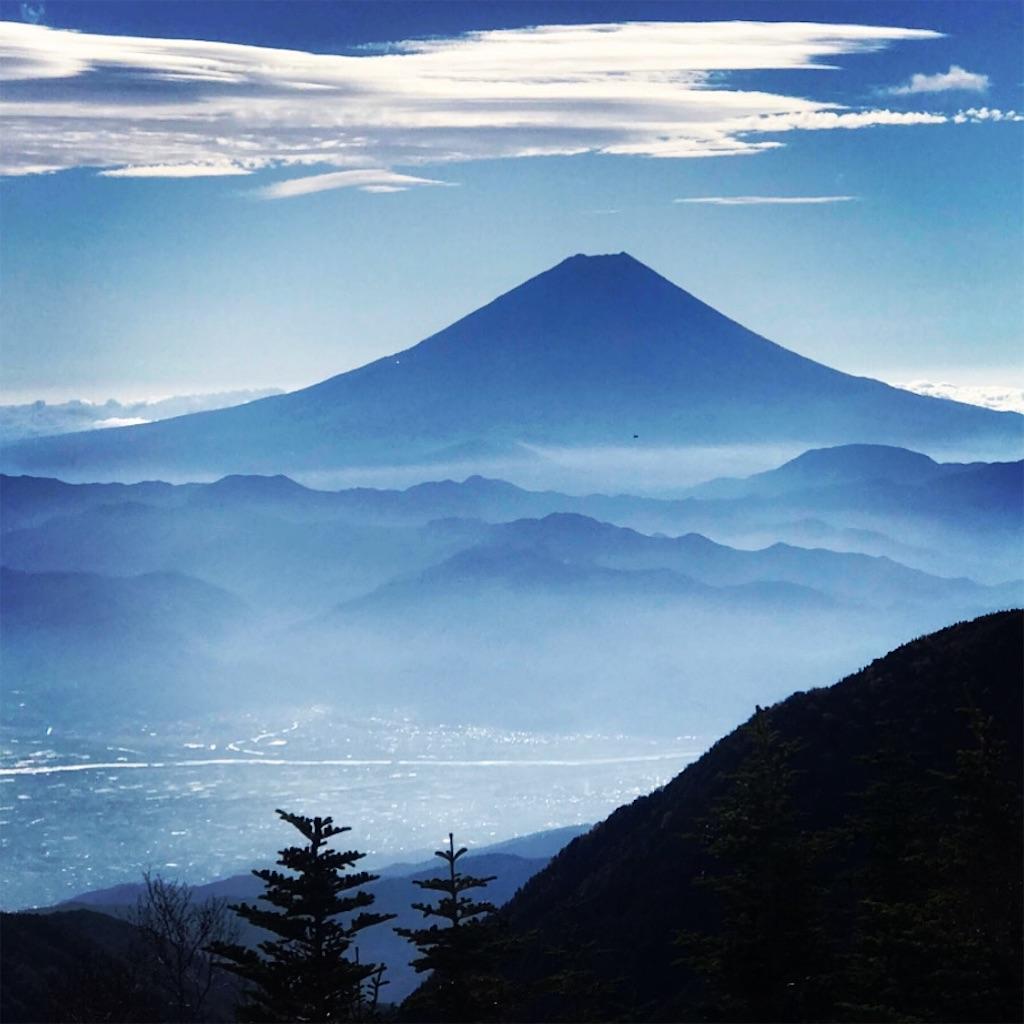 美しい富士山の姿