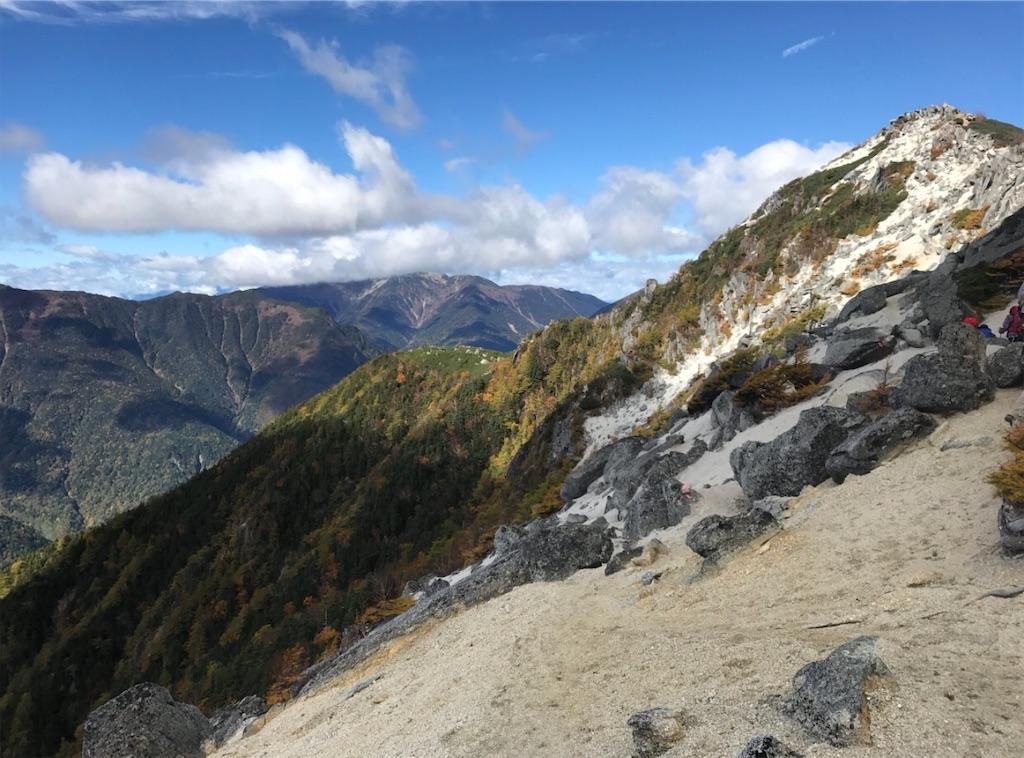 観音岳と紅葉