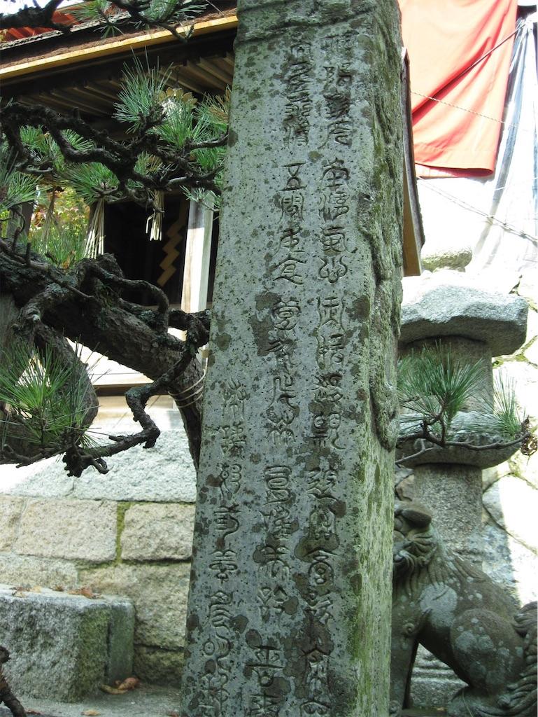 神代文字のように見える象形文字