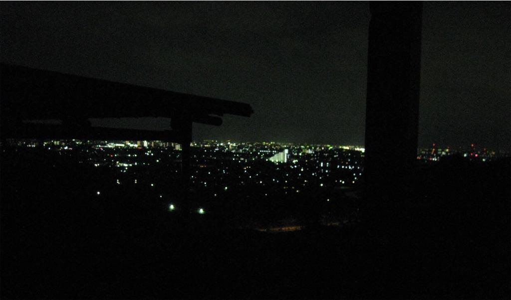高砂の街の夜景