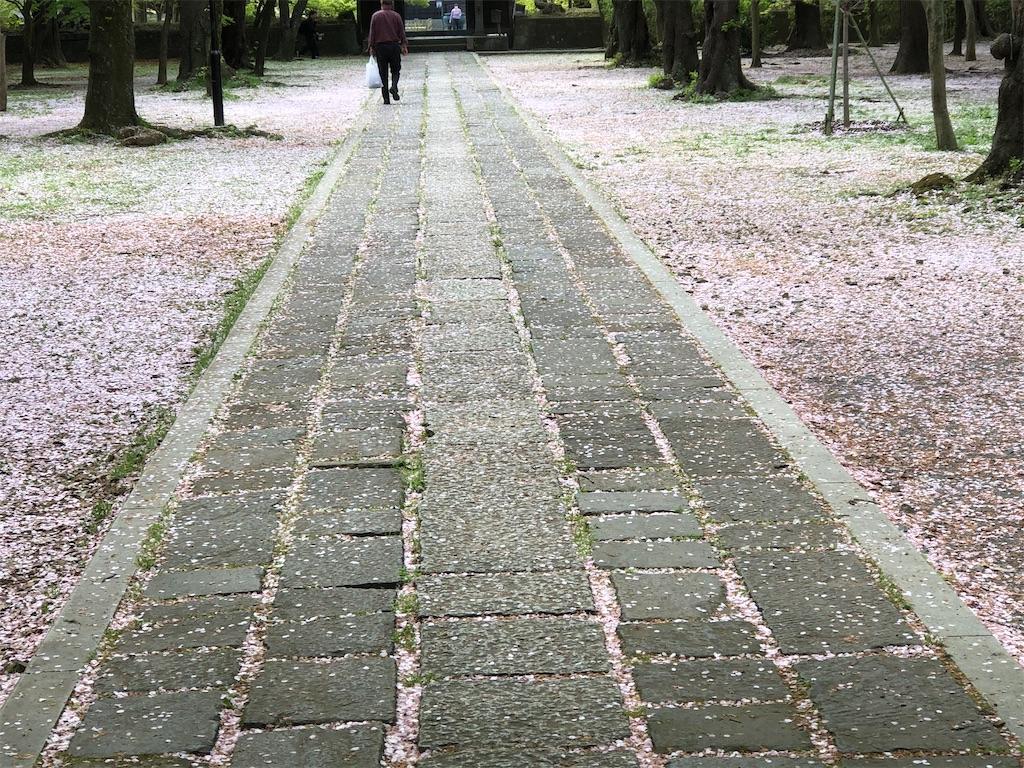 東漸寺の参道