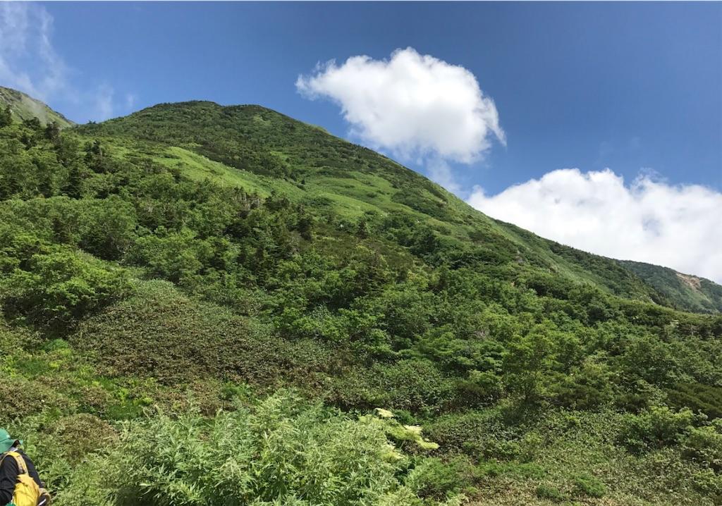 お天気にも恵まれた、最高の山でした。