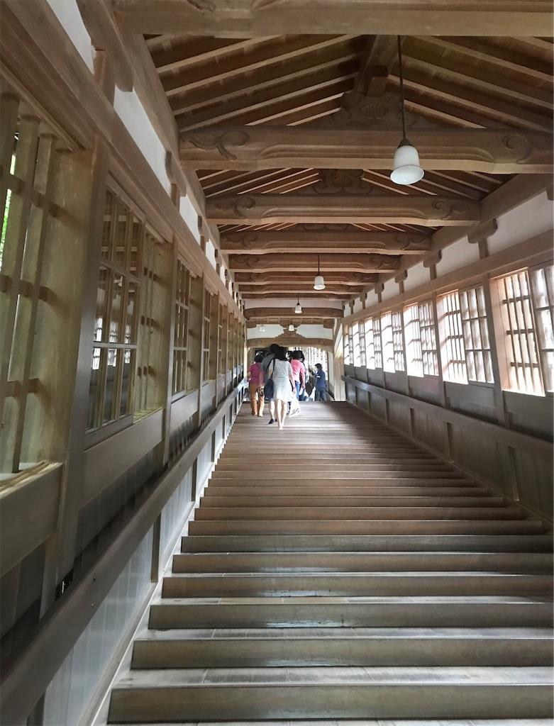 ながーーい階段の回廊