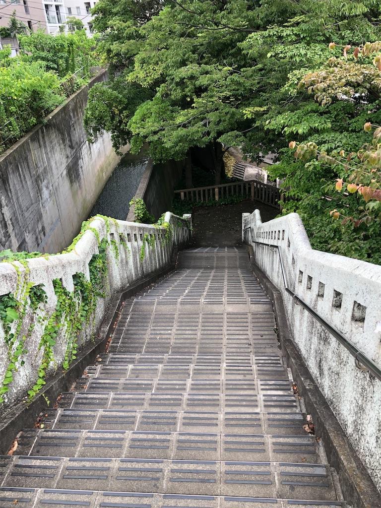 下に続く階段