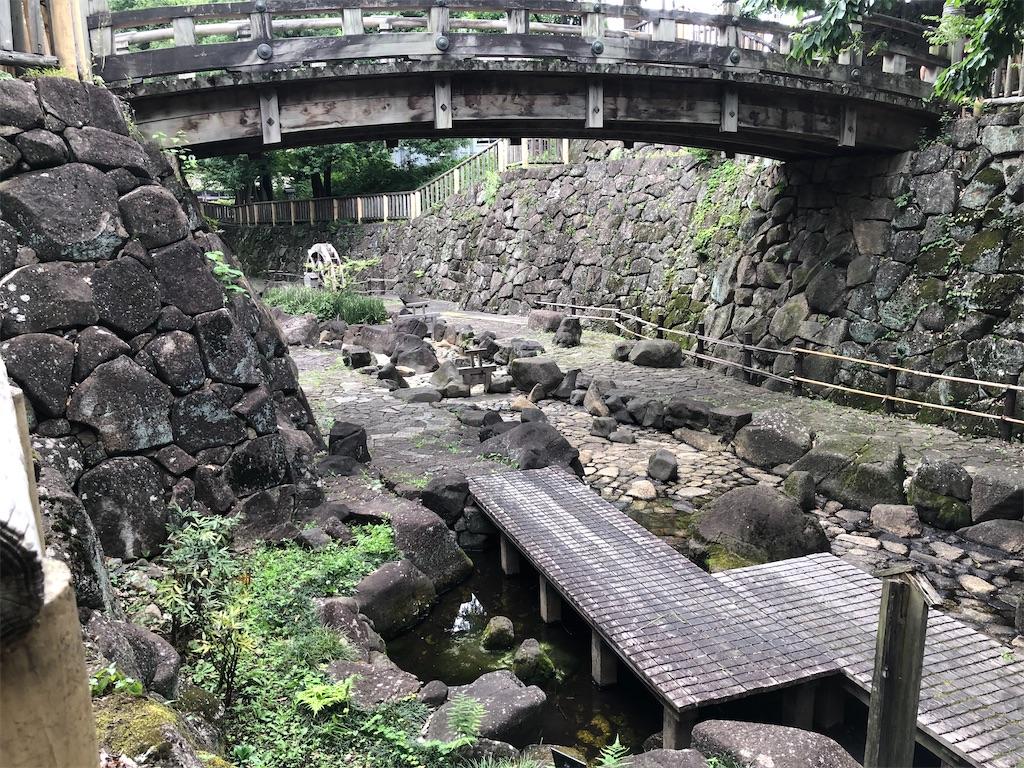 江戸の昔を思わせる風景です。