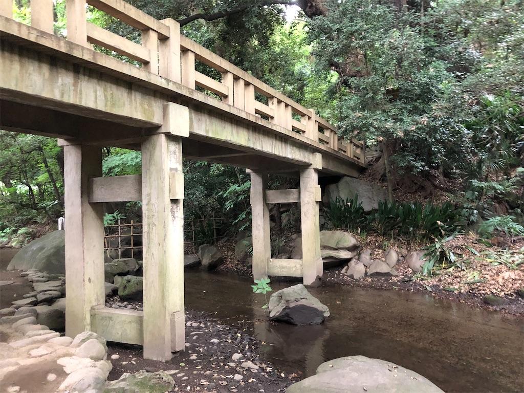 江戸時代を思わせるような橋