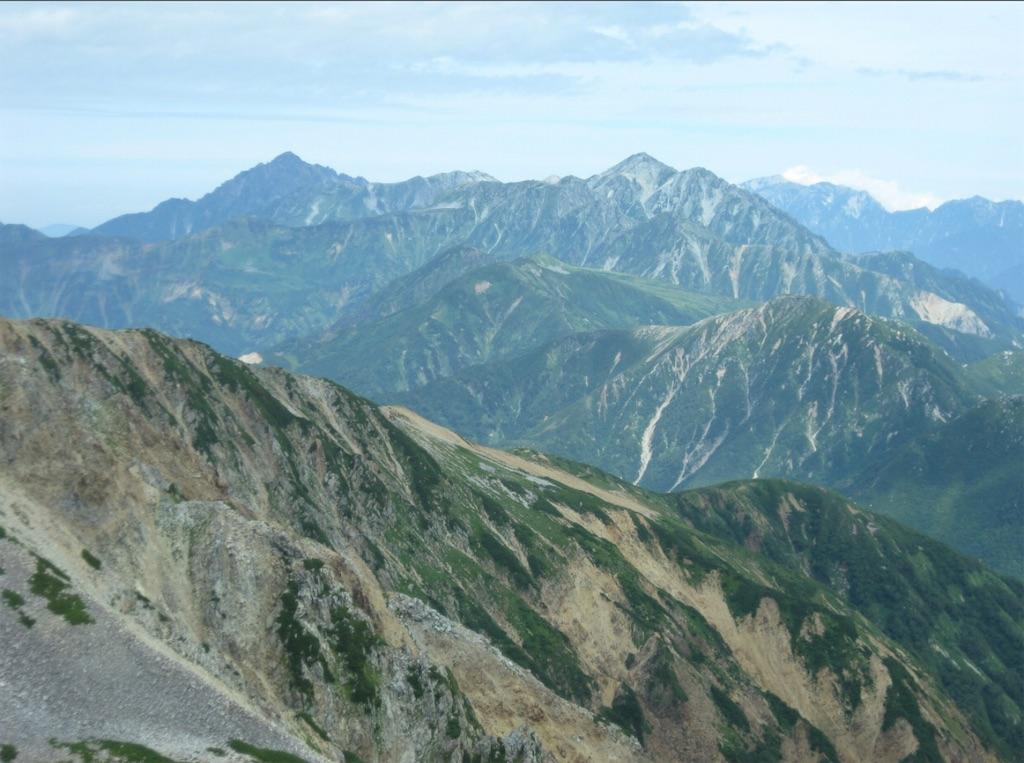 劔立山、素晴らしい眺め。