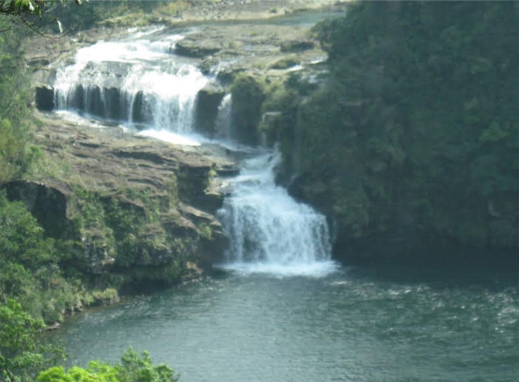 すでに立ち入り禁止のマリユドゥの滝