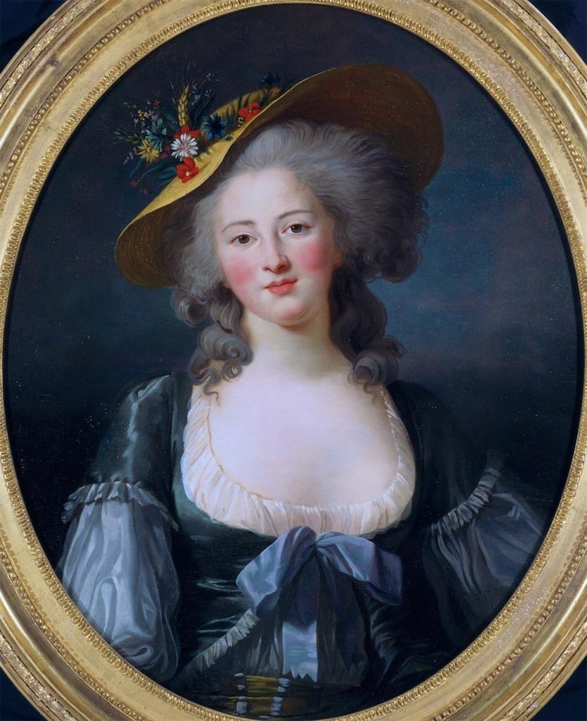ルイ16世の妹、エリザベート王女 東京富士美術館