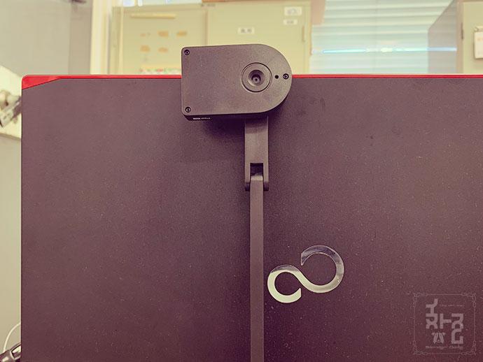 役場にて - 申請した顔写真が、本人であるかカメラで顔認証