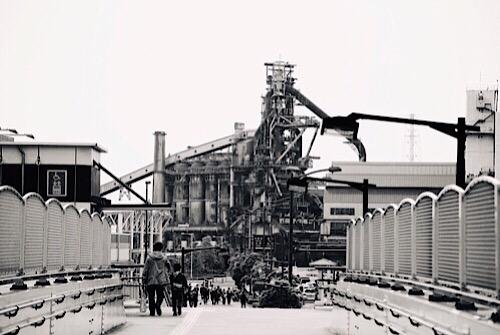 千葉の製鉄所
