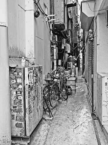 新宿の裏通り 1