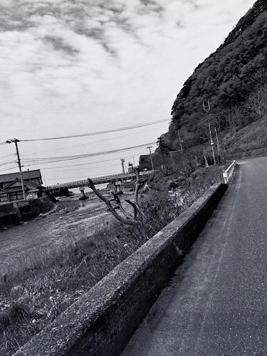 眼前は日本海