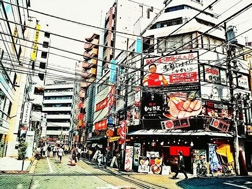 ある日の西新宿より