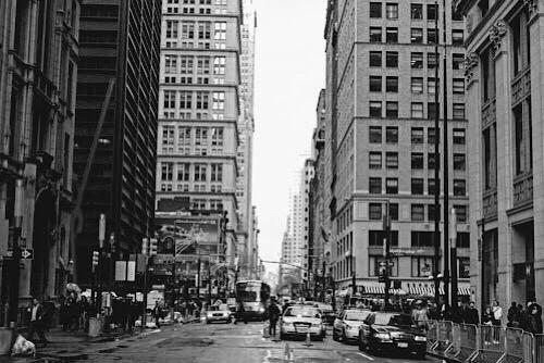 モノクロなニューヨークの日常。