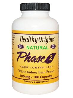 Healthy Origins フェイズ2タンパク質コントローラ、白いんげん豆エキス
