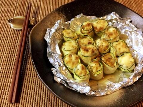 チーズクミンのささみズッキーニ焼売(糖質3.6g)
