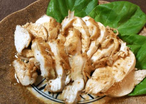 まさにサラダチキン。柔らか鶏むね柚子胡椒バター(糖質1.3g)