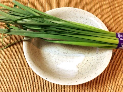 季節によって58円、栄養の塊ニラ