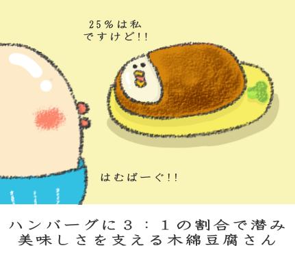 かさまし食材としての木綿豆腐
