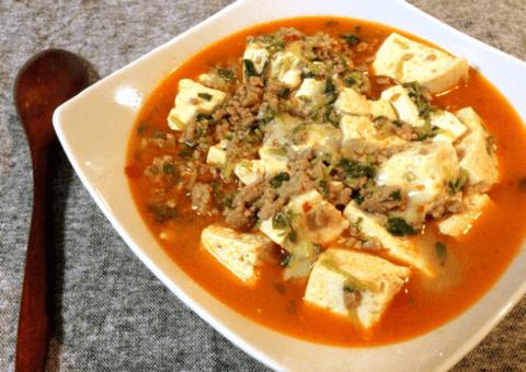 濃厚モツァレラ煮込み麻婆豆腐(糖質5.2g)