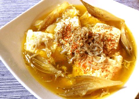 お豆腐しらすの香味山椒アヒージョ(糖質5.1g)